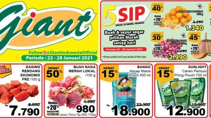 PROMO GIAT 22-28 Januari 2021, Penuh Diskon Harga Spesial Minyak Goreng Susu Gula & Daging Murah