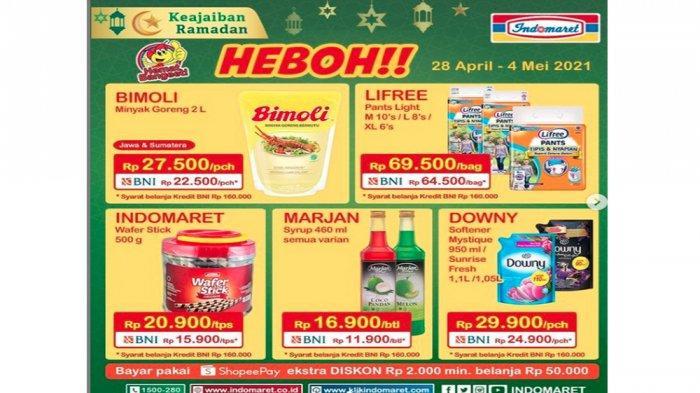 Promo Heboh Indomaret Periode 28 April - 4 Mei 2021.