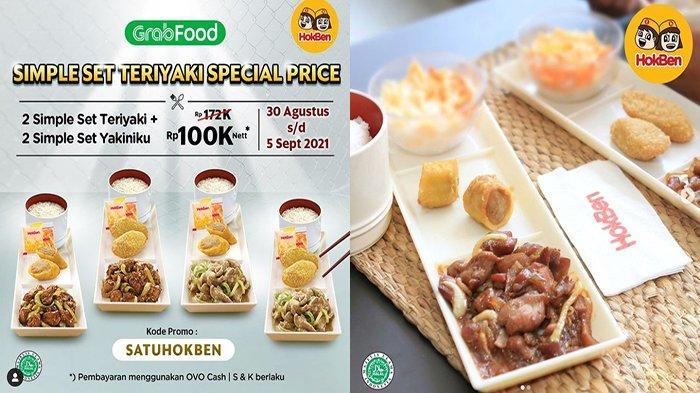 PROMO HokBen Hari Ini 1 September 2021, PROMO Hemat Nikmati Special Price Simple Set Teriyaki