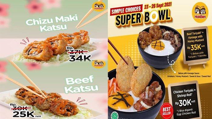 PROMO HokBen Hari Ini 24 September 2021, Promo Terbaru Chizu Maki dan Beef Katsu Hemat Harganya