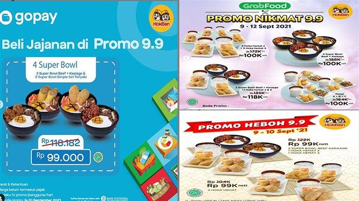 PROMO HokBen Super Sale 9.9, Serba 99 Ribu Promo Kulineran 9.9