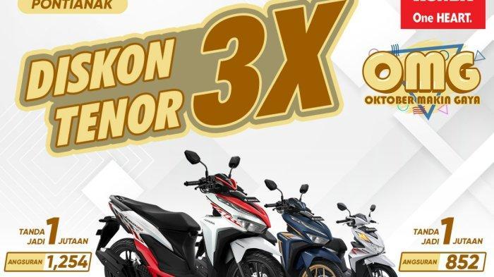 PROMO Honda di Oktober 2021   Ada Paket OMG, Beli Motor Honda BeAT hingga Vario Bisa Lebih Murah !