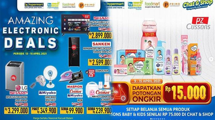 PROMO Hypermart 13 April 2020, Belanja Murah Aneka Produk & Harga Elektronik Murah
