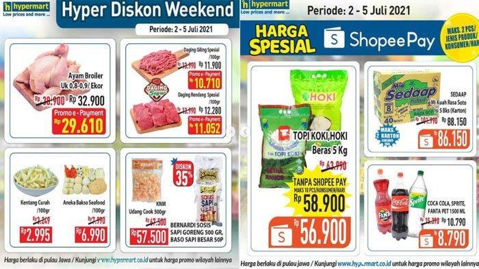 PROMO Hypermart Hari Ini 5 Juli 2021, Harga Spesial Beras Deterjen Minuman hingga Daging Segar Hemat