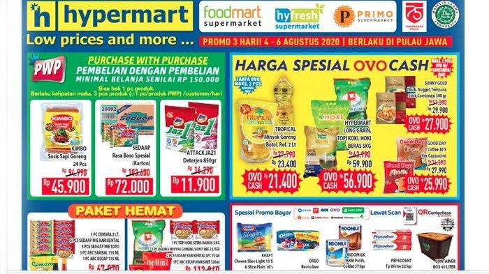 Promo Hypermart 4 6 Agustus 2020 Belanja Murah Paket Hemat Minyak Goreng Harga Spesial Dan Diskon Tribun Pontianak