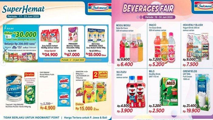 PROMO INDOMARET 22 Juni Super Hemat hingga Harga Heboh Tinggal 2 Hari, Beverages Fair hingga 30 Juni
