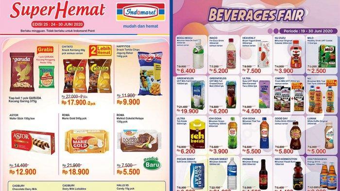 Promo Indomaret 29 Juni 2020 Incar Super Hemat Hingga Promo Minuman Segar Kosmetik Tinggal 2 Hari Tribun Pontianak