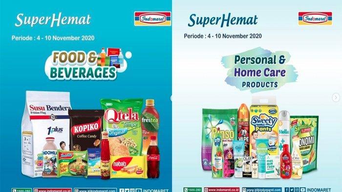 PROMO INDOMARET 5 November 2020, Buruan Promo Heboh dan Super Hemat Minyak Goreng Susu hingga Snack