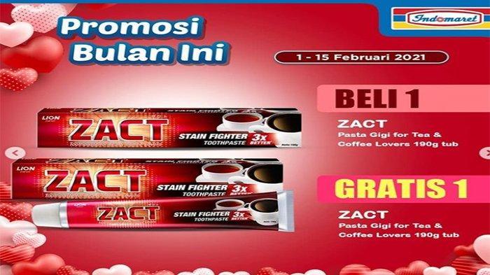Promo Indomaret Februari 2021.