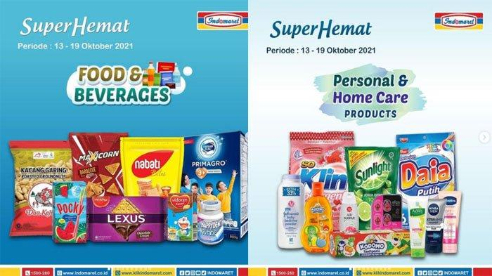 PROMO INDOMARET Hari Ini 14 Oktober 2021, Diskon Hemat Susu Snack dan Beli Sabun Gratis Gula Pasir
