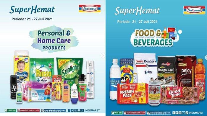 PROMO INDOMARET Hari Ini 22 Juli 2021, Super Hemat Susu Minuman Snack hingga Deterjen