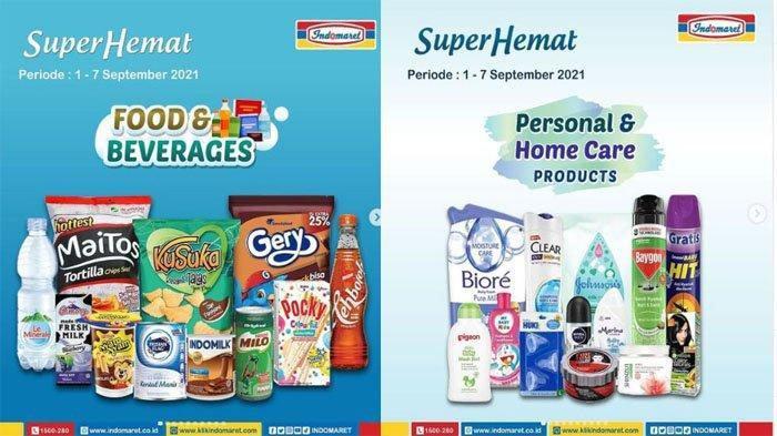 PROMO INDOMARET Hari Ini 7 September 2021, Hari Terakhir Super Hemat Snack Susu hingga Popok Bayi