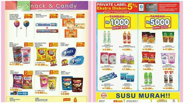 Katalog Promo Indomaret 2 8 Desember 2020 Belanja Minyak Goreng Susu Hingga Snack Super Hemat Tribun Pontianak