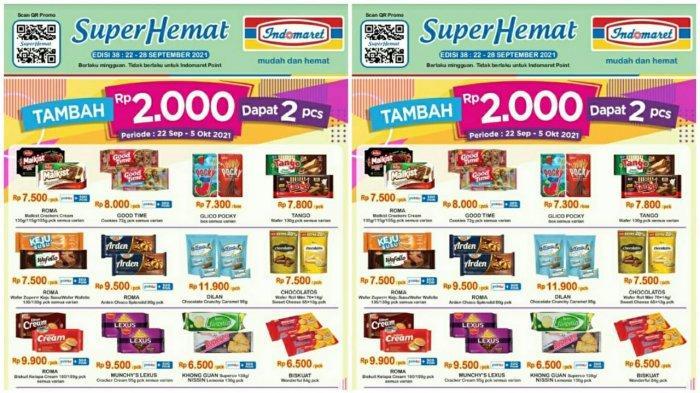 KATALOG PROMO INDOMARET Terbaru 22 - 28 September 2021,Susu Snack hingga Popok Bayi Super Hemat