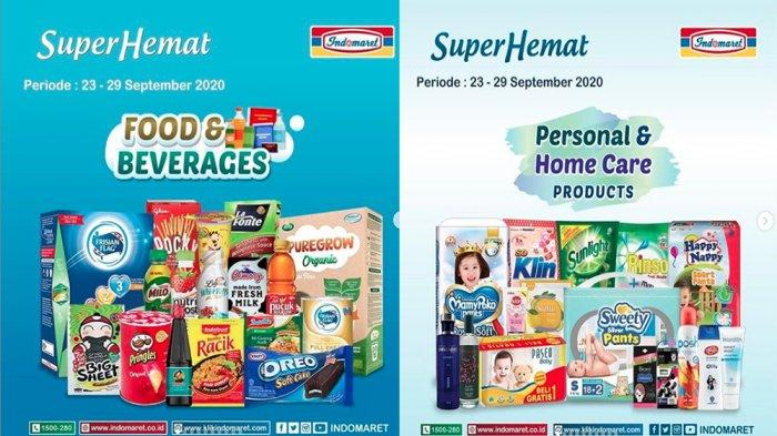PROMO INDOMARET 24-29 September, Diskon Super Hemat Minyak Goreng Snack hingga Susu, Beli 2 Gratis 1