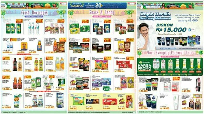 Promo Indomaret Super Hemat Periode 31 Maret - 6 April 2021.