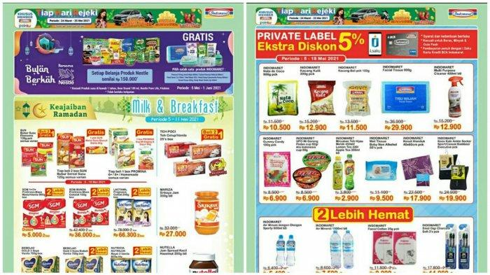KATALOG PROMO INDOMARET 5 - 11 Mei 2021, Promo Heboh Ramadan Diskon Minyak Goreng Susu hingga Wafer