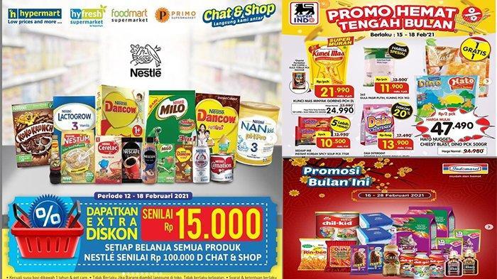 PROMO Indomaret Superindo Hypermart Hingga Giant 16 Februari 2021 Promo Hemat Tengah Bulan