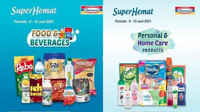 PROMO INDOMARET Terbaru Hari Ini 10 Juni 2021, Banyak Diskon Susu Snack Deterjen hingga Popok Bayi