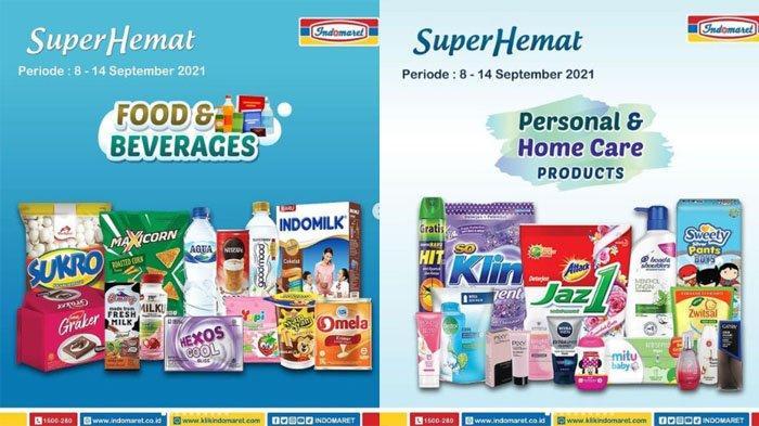 PROMO INDOMARET Terbaru Hari Ini 9 September 2021, Beras Snack Deterjen hingga Popok Bayi Hemat