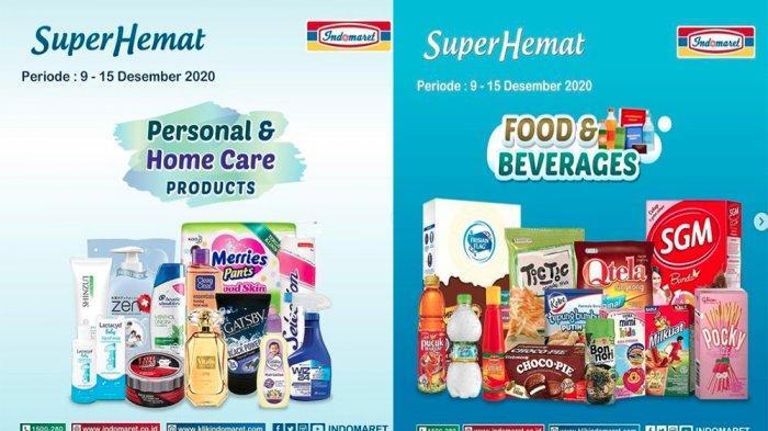 PROMO INDOMARET Terupdate 10 Desember 2020, Super Hemat Susu Snack hingga Minuman Beli 2 Gratis 1
