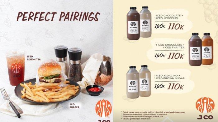 PROMO JCO Hari Ini 1 Juni 2021, Diskon Weekly Promotion Burger JCO & Beli 1 Gratis 1 Iced JCOCCINO