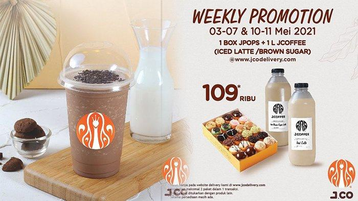 Promo Jco Hari Ini 10 Mei 2021, Promo Terbaru Buy 1 Get 1 Choco Forest Hanya 40 Ribu