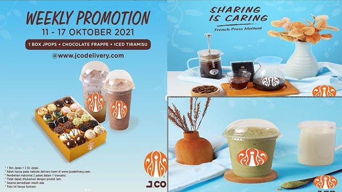 PROMO JCO Hari Ini 14 Oktober 2021 Terbaru, Nikmati 2 Green Tea Frappe Hanya 40 Ribu
