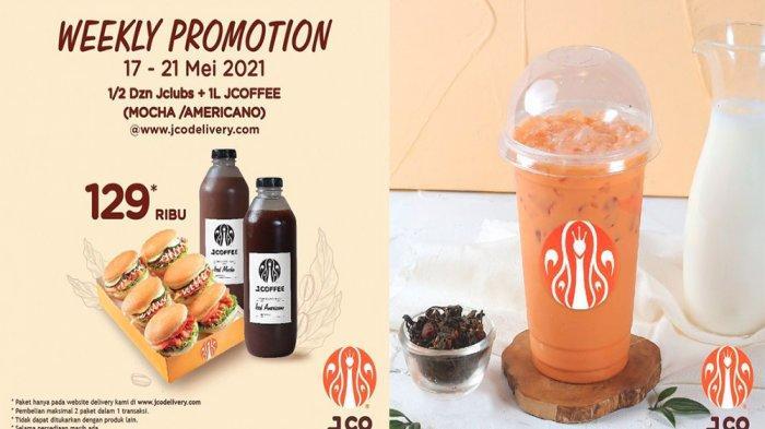 PROMO JCO Hari Ini 19 Mei 2021, Beli 1 Gratis 1 Iced Thai Tea Murah Banget Berlaku 17-23 Mei 2021