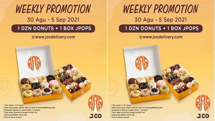 PROMO Jco Hari Ini 30 Agustus 2021 Terbaru, Harga Hemat Beli 1 Lusin Donut + 1 Box JPOPS