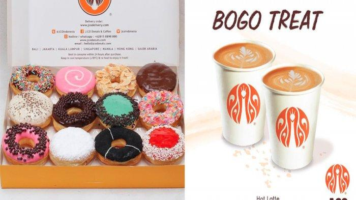 PROMO JCO Hari Ini 30 Mei 2021, Promo Donat JCO hingga Buy 1 Get 1 Minuman Hot Latte