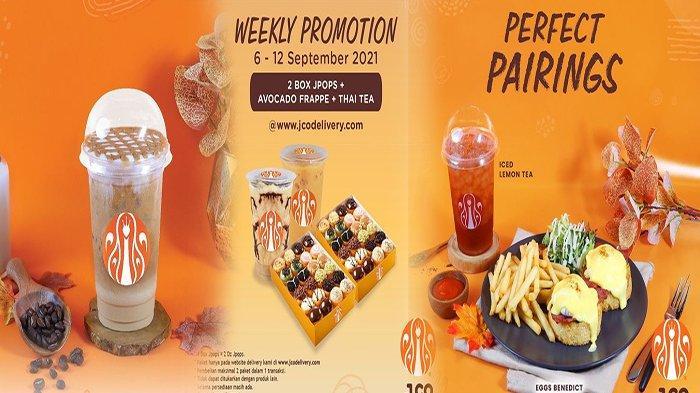 PROMO JCO Hari Ini 9 September 2021, Promo Buy 1 Get 1 Nikmati Caramel Jccocino dengan Harga Spesial