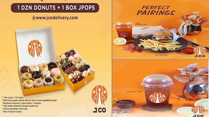 PROMO JCO Hari Ini Kamis 2 September 2021, Promo Buy 1 Get 2 Beli 2 Lemon Tea Hanya 25 Ribu