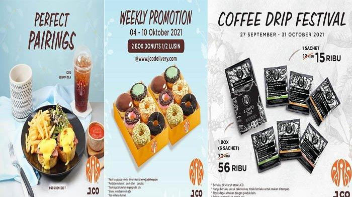 Promo JCO Hari Ini Rabu 6 Oktober 2021, Gratis Iced Lemon Tea/Americano Nikmati JCO Eggs Benedict