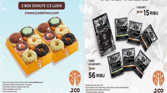 Promo JCO Hari Ini Selasa 5 Oktober 2021 Terbaru, Beli 2 Box Donuts 1/2 Lusin Hanya 85 Ribu