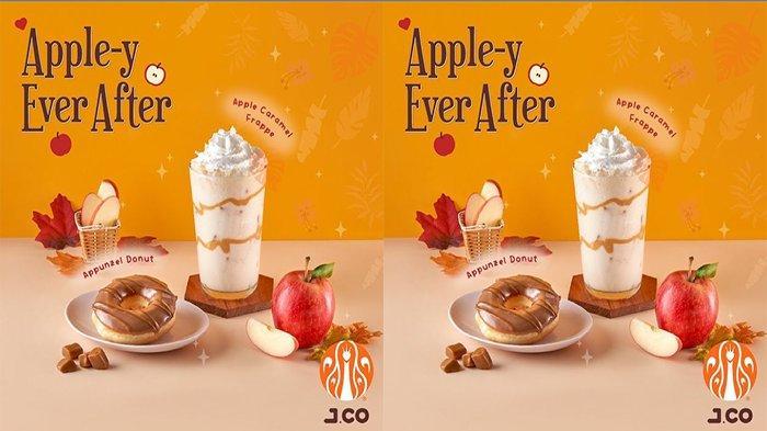 PROMO Jco Hari Ini 3 Juli 2021 Terbaru, Rasakan Sensasi Appunzel Donut & Apple Caramel Frappe