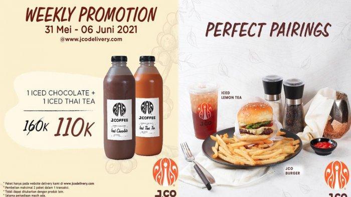 PROMO JCO Terbaru Hari Ini 3 Juni 2021, NikmatiWeekly Promo Beli 2 Botol JCOFFEE Harga Spesial