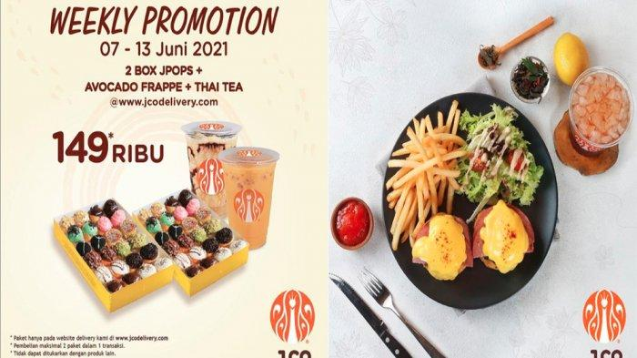 PROMO JCO Terbaru Pekan Ini 7-13 Juni 2021, Paket 4 Lusin JPOPS Avocado Frappe Iced Thai Tea Hemat