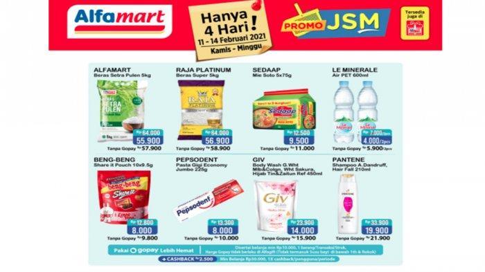 Promo JSM Alfamart 11 - 14 Februari 2021.