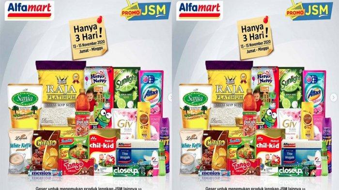 Katalog Promo Jsm Alfamart 13 15 November 2020 Hanya 3 Hari Diskon Ada Beras Detergen Hingga Susu Tribun Pontianak