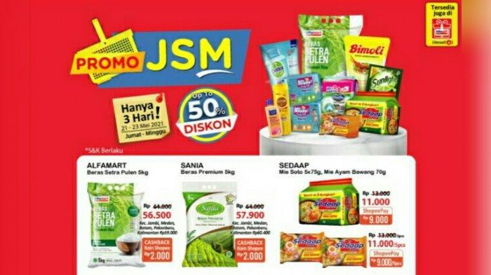Promo JSM Alfamart 21- 23 Mei 2021