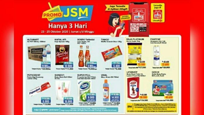 Promo Jsm Alfamart 23 25 Oktober 2020 Ada Susu Hingga Popok Bayi Murah Cek Juga Promo Serba Gratis Tribun Pontianak