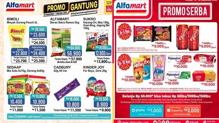 Promo Jsm Alfamart 30 September Berlangsung Hingga 1 Oktober 2020 Cek Promo Lainnya Cuma Hari Ini Tribun Pontianak