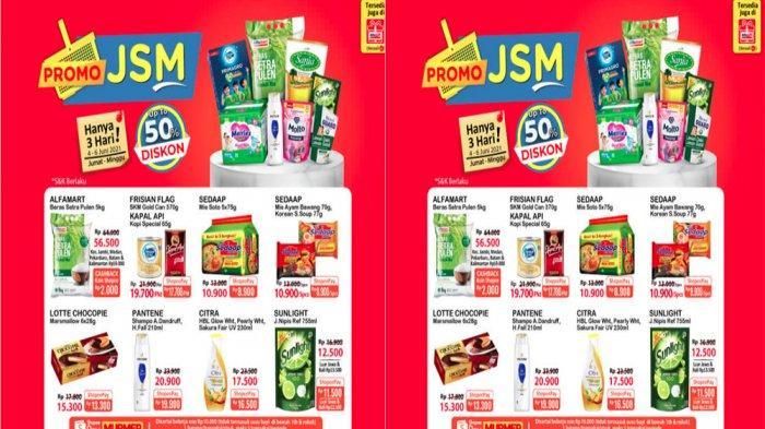 KATALOG PROMO JSM ALFAMART Terbaru 4 - 6 Juni 2021, Banyak Diskon Beras Susu Snack hingga Deterjen