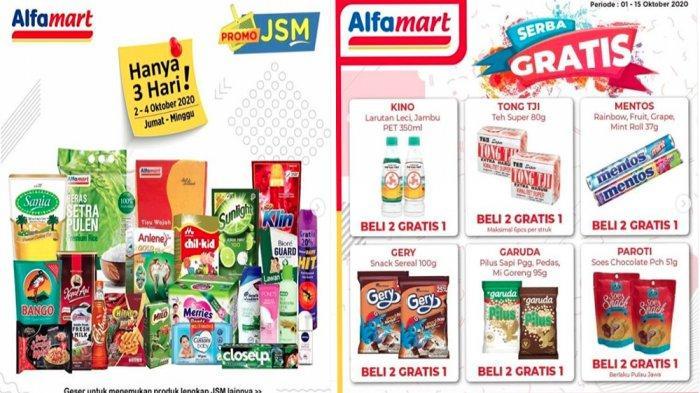 Promo Jsm Alfamart 4 Oktober 2020 Tersisa Hari Ini Ada Juga Promo Produk Bayi Hingga Serba Gratis Tribun Pontianak