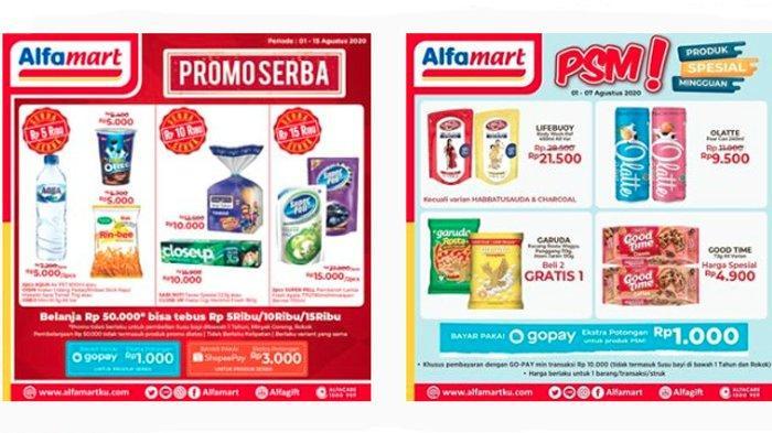 JSM Alfamart Berlangsung, Katalog Promo Alfamart 1 - 7 Agustus Hadir Banyak Produk Spesial Diskon
