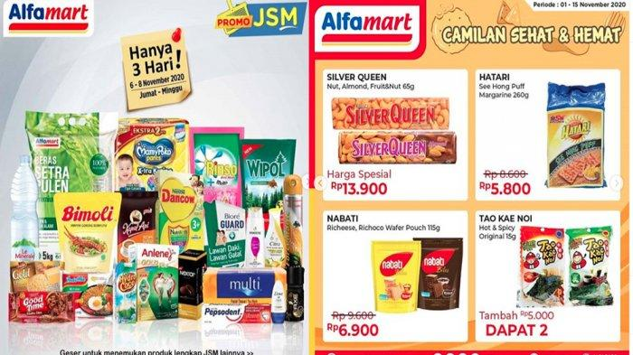 Promo Jsm Alfamart Hari Ini 8 November 2020 Buruan Minyak Goreng Hingga Susu Murah Cek Katalognya Tribun Pontianak