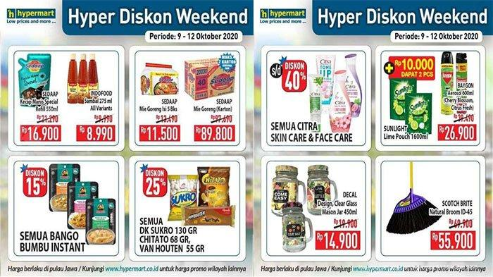 Katalog Promo Jsm Hypermart 9 12 Oktober 2020 Weekend Promo Transmart Carrefour 9 Oktober 2020 Tribun Pontianak