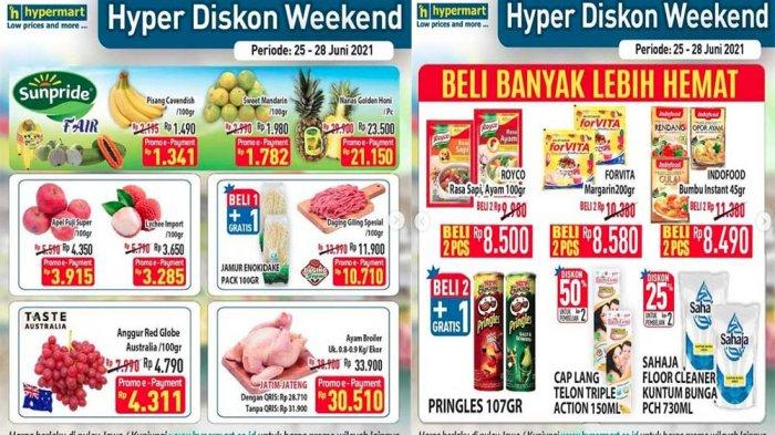 PROMO JSM Hypermart Weekend 27 Juni 2021, Buah-buahan Segar Daging Sosis hingga Susu Hemat Banget