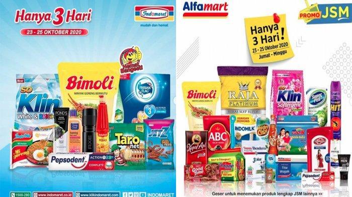 Promo Jsm Indomaret 23 25 Oktober 2020 Promo Jsm Alfamart 23 25 Oktober 2020 Diskon Hemat Banget Tribun Pontianak